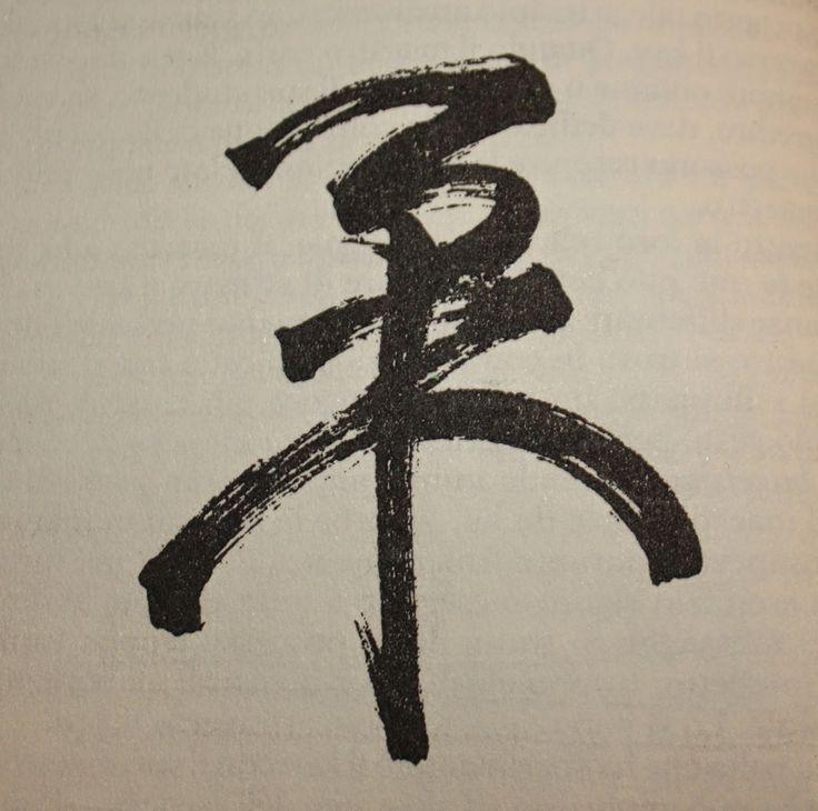 Ju Jitsu - Nihon Tai Jitsu - Imola: Per la Rubrica: Calligrafia giapponese - I Kanji