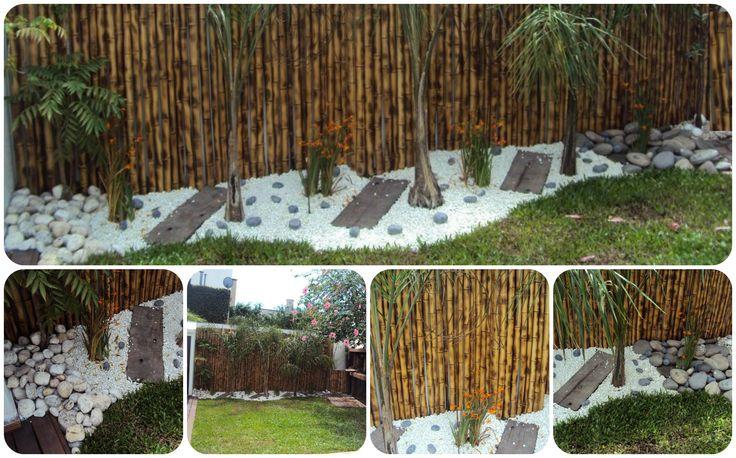 Efecto selva en un peque o patio dise os by gisele sanchez for Diseno de patio exterior pequeno
