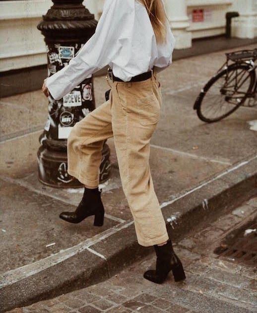 How to Rock Corduroy Pants Like a Fashion Blogger