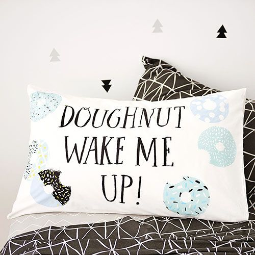 Awesome Text Pillowcase