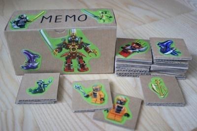 Nasze dziecko uwielbia Ninjago! To ostatnio pasja wokół której kręci się nasz świat:) Stąd też pomysł na grę memo z bohaterami Ninjago.    Jak dotąd nie byliśmy zbyt wielkimi fanemi memory, aż do teraz. Ulubieni bohaterowie sprawiają, że zabawa stała się fascynującą przygodą!