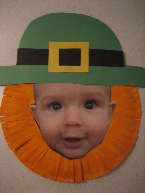 Hilarious. A St. Patrick's Day hallway display of your students' faces as leprechauns would capture everyone's attentions as they walk by. I love this idea! I would combine it with a creative writing assignment written inside a 4 leaf clover and glue the clovers beside these leprechaun faces.