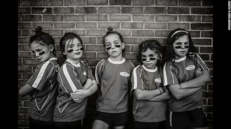 """Strong is the New Pretty"" photography for kids - and parents - to encourage them to be who they are, by Kate Parker"