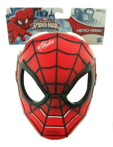 Stan Lee Autographed/Signed Marvel Ultimate Spider-Man Costume Prop Mask @ niftywarehouse.com #NiftyWarehouse #Spiderman #Marvel #ComicBooks #TheAvengers #Avengers #Comics