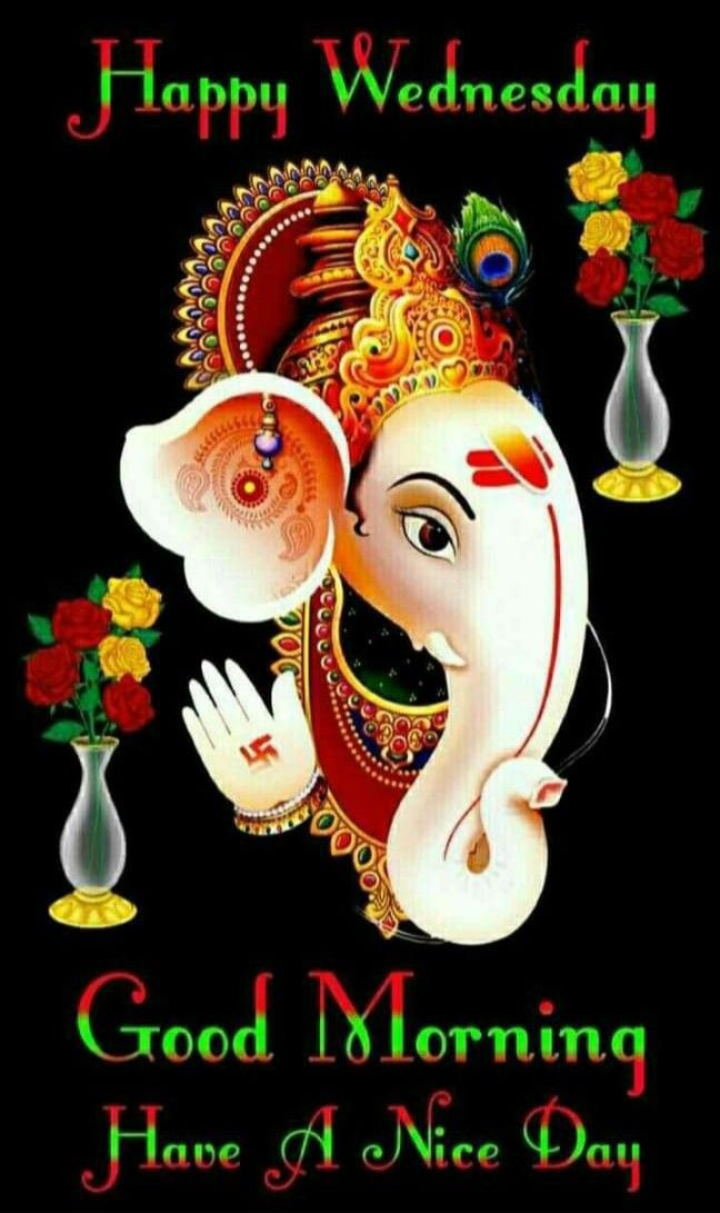 happy Wednesday lord ganesh ji images