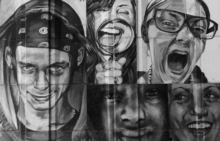 Graffiti found under the bridge in Windsor UK