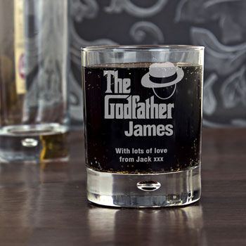 The Godfather Personalised Whisky Glass - Exclusive