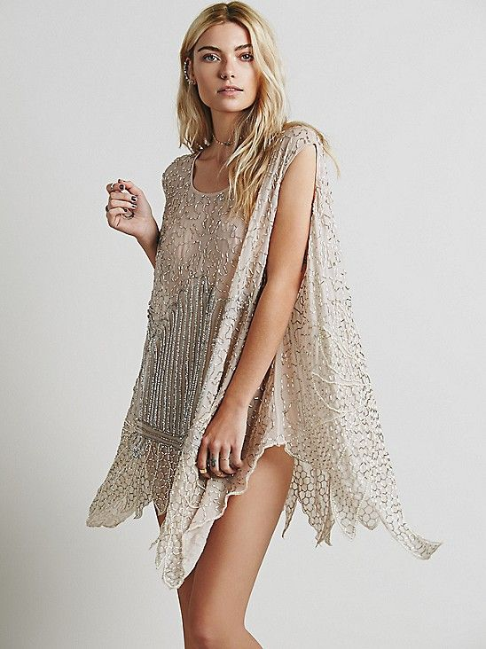 Sequin tunic from free people