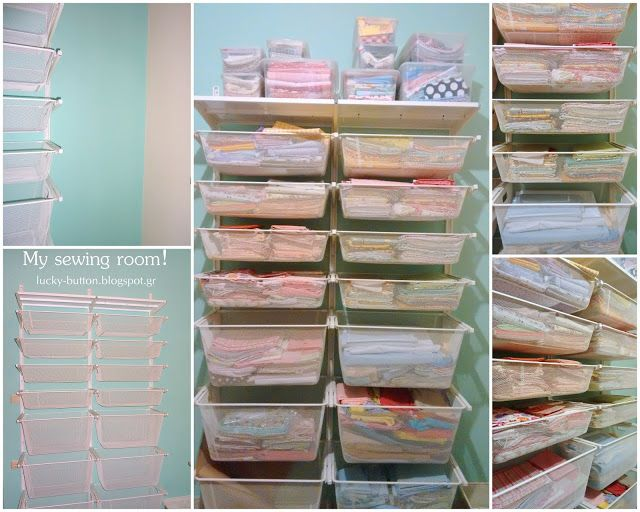 Smart storage for fabric