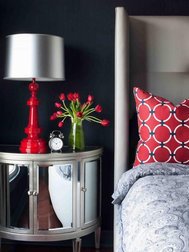 Bedroom Decorating Ideas Red And Gray 68 best design/červeno-bílá kombinace - design/red-white