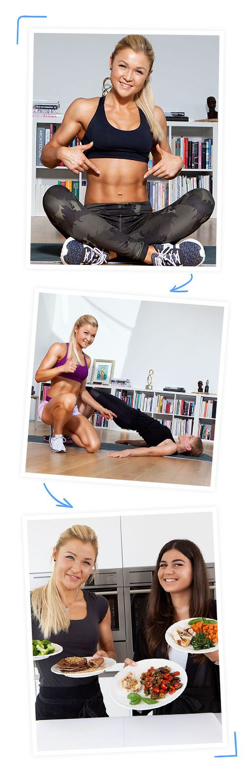 Mit Sophia Thiel im 12 Wochen Programm zum Traumbody. Du kannst das schaffen - mit effektivem Training, gesunder Ernährung und persönlichen Geheimtipps von Sophia.