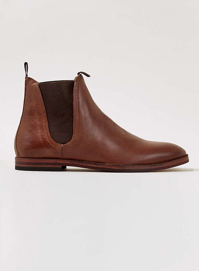 $220, Hudson Shoes Hudson Tan Leather Chelsea Boots. Sold by Topman. Click for more info: https://lookastic.com/men/shop_items/342849/redirect