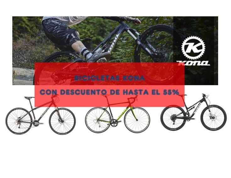 Bicicletas Kona con descuento, rebajas hasta el 55%. Bicicletas nuevas desde 415 euros