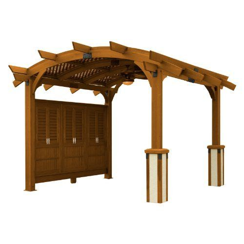The Outdoor GreatRoom Company Sonoma 12-R Sonoma Arched Pergola Color: Redwood by The Outdoor GreatRoom Company. $3329.10. The Outdoor GreatRoom Company Sonoma 12-R Features: -Pergola. -Material: Douglas fir. -Includes anchor system. -Offers privacy, along with wind and sun protection. -Made in U.S.A. -Manufacturer provides Limited Lifetime Warranty on Stainless Steel, 1 year of structural warranty, 1 year of finish warranty, and 1 year of log set warranty. -D...