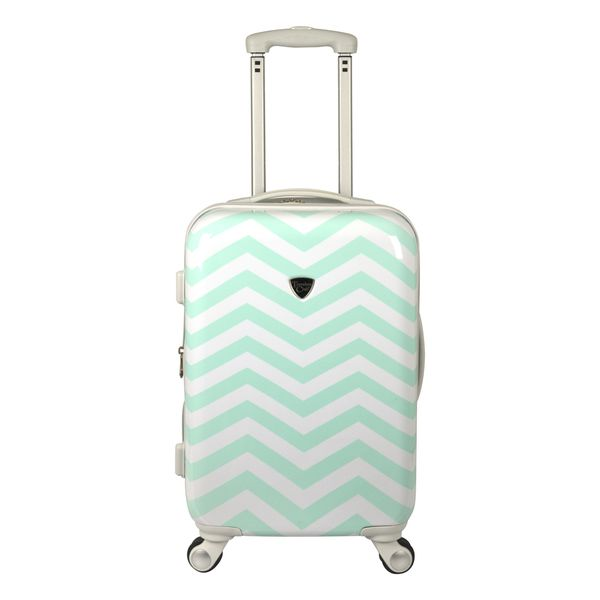 Mint Hardside Suitcase