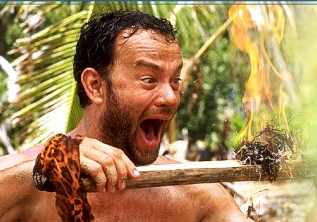 "The brilliant and totally underrated film that underwhelmed critics for reasons unknown -  ""Cast Away."""