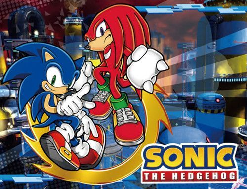 Sonic The Hedgehog - Sonic & Knuckles Sublimated Throw Blanket