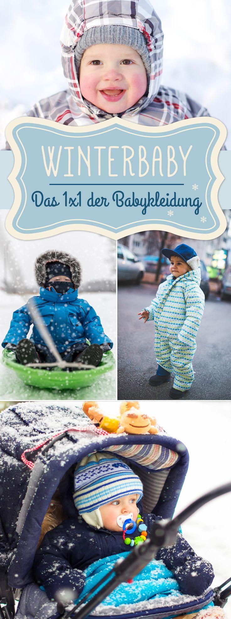 Warm, aber nicht zu warm: So kleiden Sie Ihr Baby im Winter richtig!   – Mein Baby