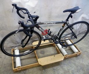 DIY BICYCLE ROLLER HELPS CURE THE WINTER BLUES http://hackaday.com/2014/12/20/diy-bicycle-roller-helps-cure-the-winter-blues/