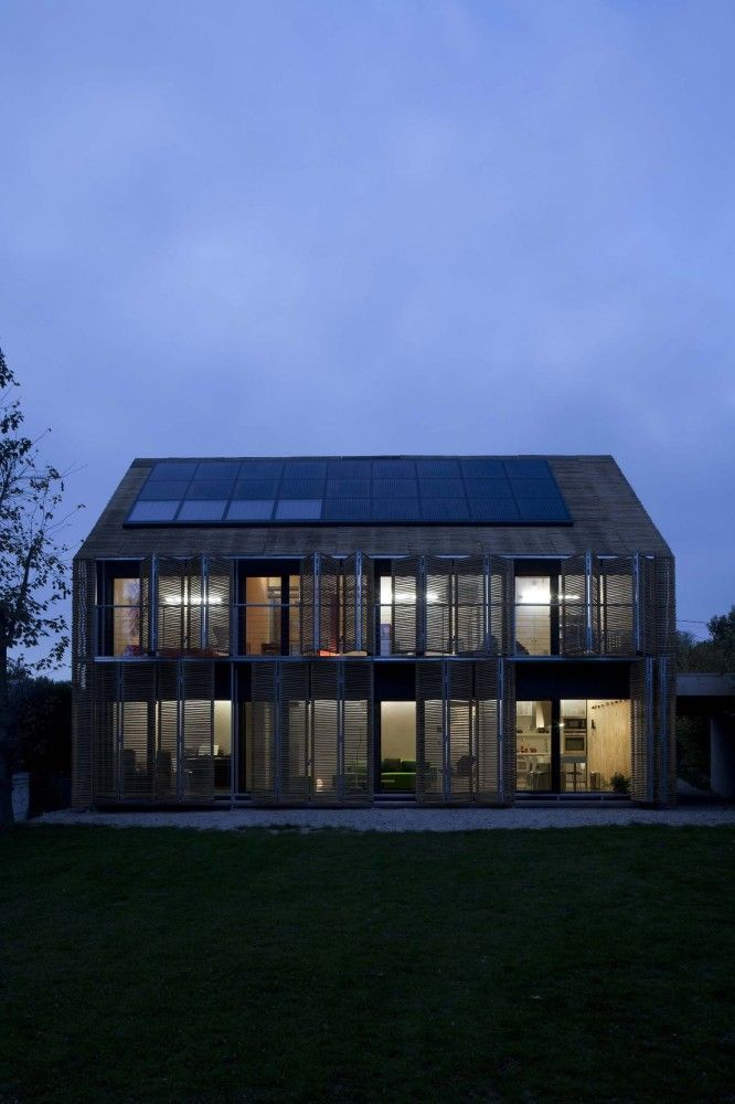 Passive House in Bessancourt France by Karawitz
