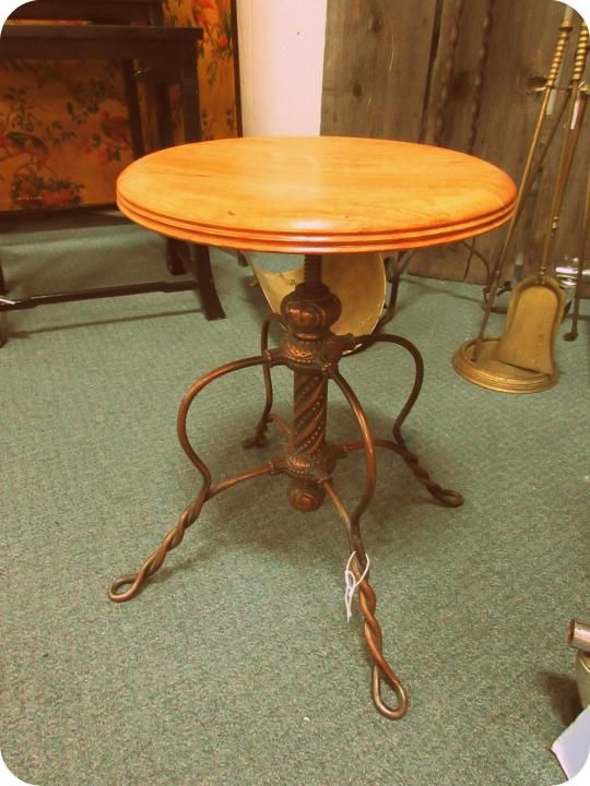 Antique Piano Stool from Vendor 334 in booth 502. Priced at $285.00. ~ The - 142 Best Antique & Vintage Furniture Images On Pinterest Armadillo