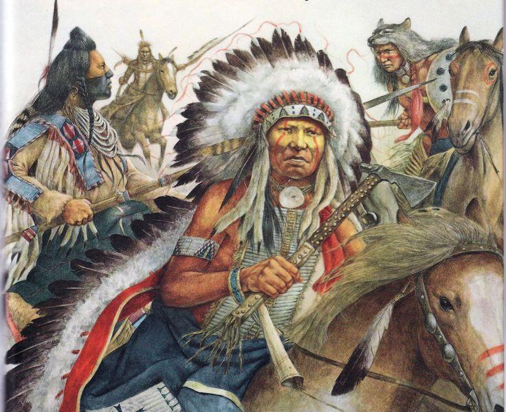 Chief Crazy Horse   American Indian War Art   Native ...