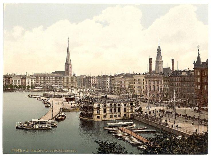 Hamburg - Ansicht aus dem frühen 20. Jahrhundert.