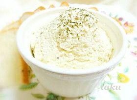 クリームチーズのような豆腐ディップ