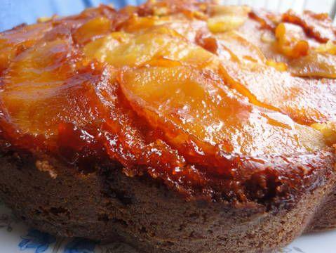 Bizcocho de kefir y manzanas caramelizadas Receta de rebekita - Cookpad