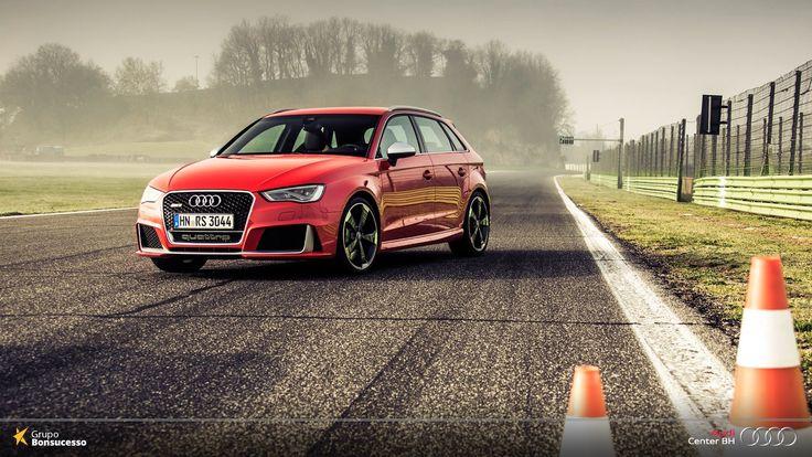 Das pistas de corrida para sua garagem. #AudiRS3Sportback  #Audi #AudiLovers #Love #AudiAutomóvel #AudiCenterBH #RS3 #RS3Sportback #Sportback #AudiShow #AutoShow