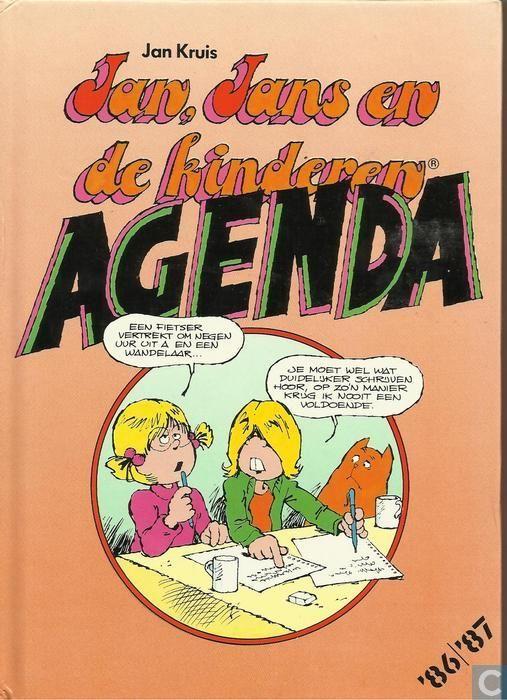 Strip - Jan, Jans en de kinderen - Jan, Jans en de kinderen agenda