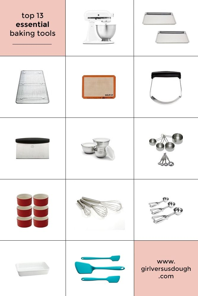 My Top 13 Essential Baking Tools Baking Essentials Tools Baking