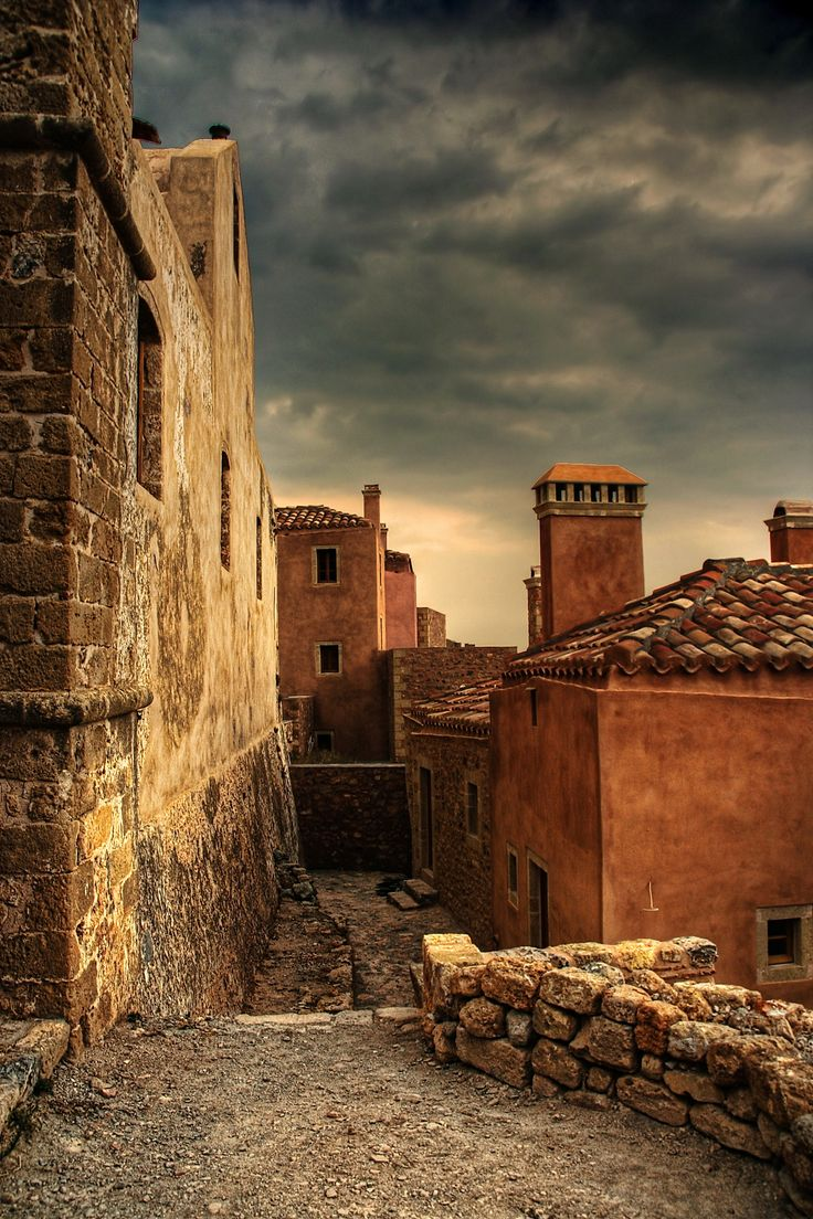 Monemvasia, Lakonia, Peloponnese #Greece