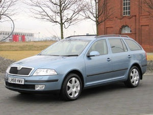 2008 58 SKODA OCTAVIA 1.8 TF ESTATE ELEGANCE * EX POLICE LIAISON CAR * 53k & FSH www.thecarwarehouse.co.uk