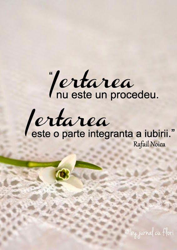 citat despre iertare iubire - Rafael Noica si floare de ghiocel