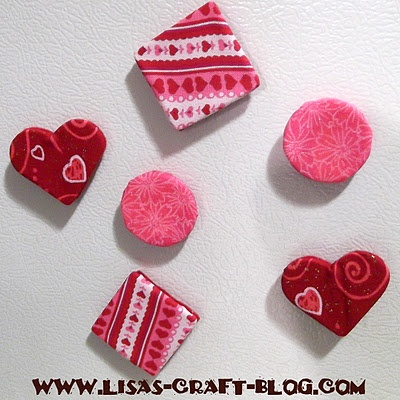 Quick Fabric Covered Magnets | Magnet | Pinterest