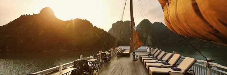 Ha Long Bay Cruise in #luxury // (c) TravelAge West #Asia #Vietnam #cruise