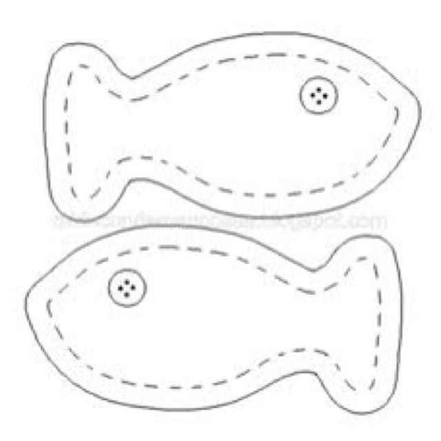Patron peces tela under the sea pinterest - Patrones para hacer patchwork ...