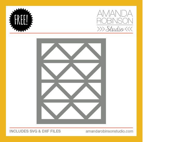15th January 2014 Free Cutting File - Amanda Robinson Studio