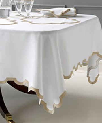 Matouk Linen Tablecloth For A Stunning Table