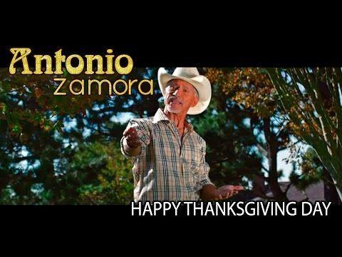 HAPPY THANKSGIVING DAY - Antonio Zamora - FELIZ DIA DE ACCION DE GRACIAS - YouTube