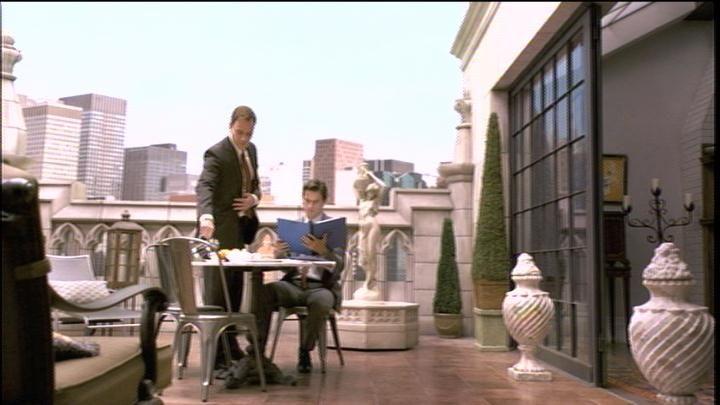Neal Caffrey's Balcony
