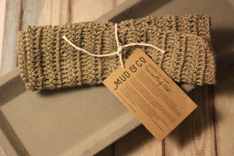 Organic Hemp Face and Body Washcloth