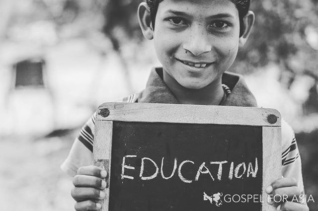 Education, health, nutrition, friends, a safe place, love and hope—boys and girls receive all this and more through GFA's Bridge of Hope Program! #bridgeofhope #education #health #love #hope #children #gospelforasia