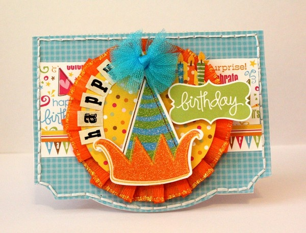 cute kid birthday card