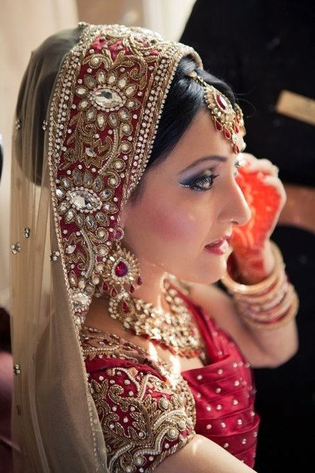 Beautiful bridal dupatta -- P Blogs
