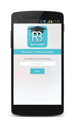 resume builder free or resume maker is a utility that helps you create your resume instantly - Mobile Resume Builder