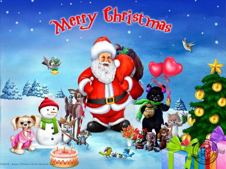 christmas pictures | Merry Christmas With Santa Clause
