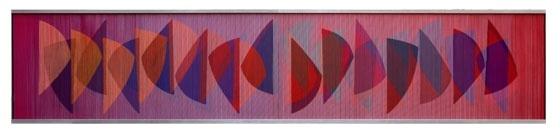 Carlos Cruz Diez - Physichromie 196: Work, Carlo Cruz Diez, Ate Cruz Diez, Geometric Art, Arte Geométrico, Turquoise Blue Cross, Physichromi 196, Carlos Cruz, Physichromie 196