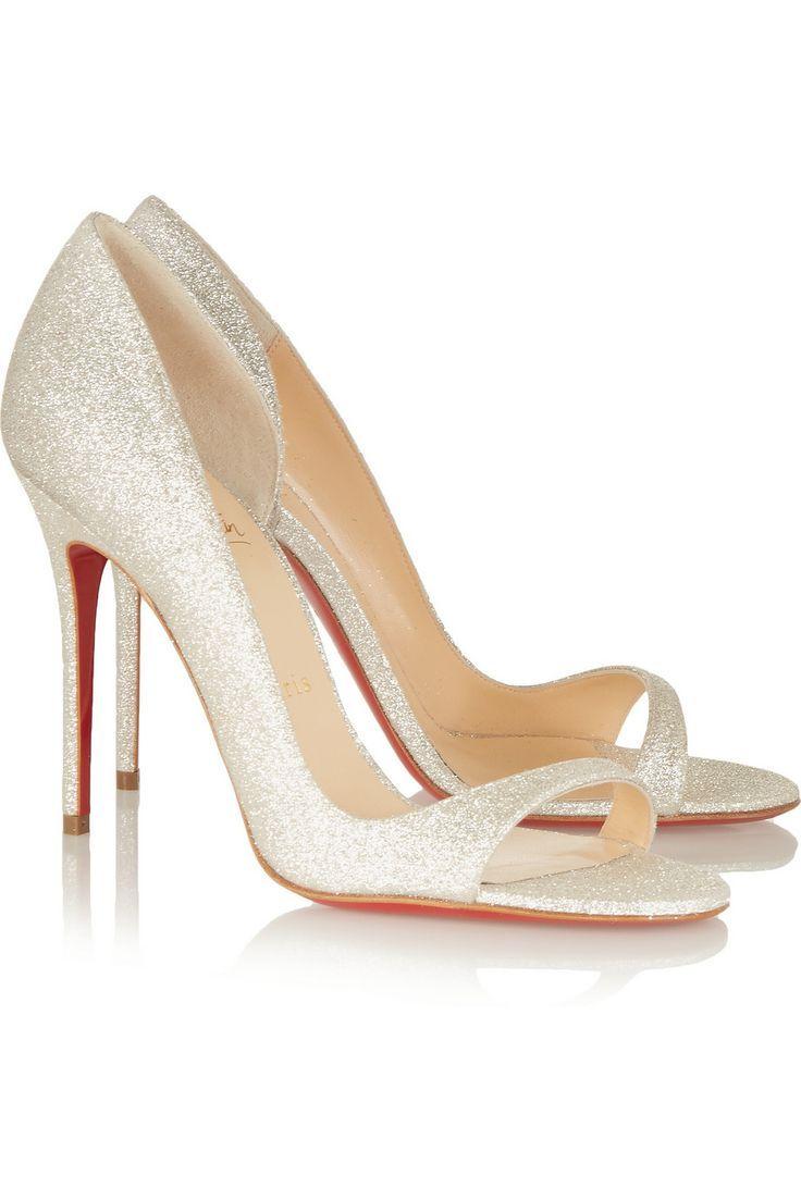 De mooiste glitter trouwschoenen | In White